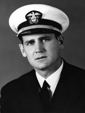 "Paul ""Bear"" Bryant enlisted in the U.S. Navy in the early 1940s during World War II and was stationed in North Africa for a time between football-coaching stints at pre-flight schools. (From Encyclopedia of Alabama, courtesy of Paul W. Bryant Museum, University of Alabama)"