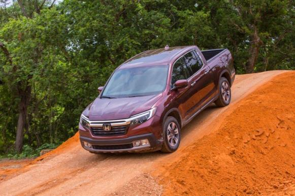 The Alabama-built Honda Ridgeline is one of the most American-made vehicles sold in the U.S. (Honda)