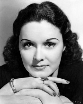 Portrait of Gail Patrick, 1942. (RKO Radio Pictures, Wikipedia)