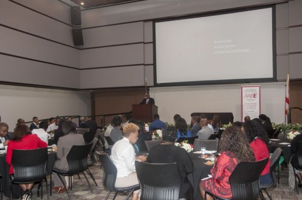 AABE annual scholarship luncheon. (Billy Brown)