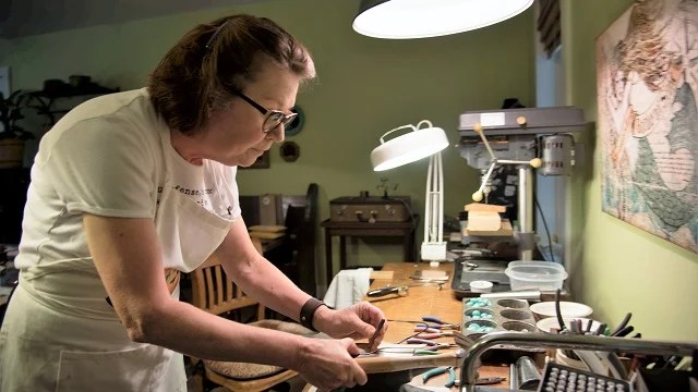 Down in the Delta is an Alabama Maker turning imagination into jewelry