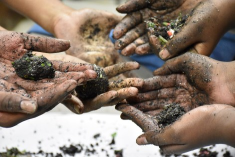 BSI students love hands-on learning. (Dury Shamsi-Basha/Alabama NewsCenter)