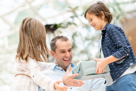 Give Dad the treatment he deserves this special holiday weekend. (Getty Images)