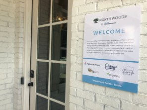 The first of 51 homes is complete in Northwoods, the first Smart Neighborhood® to be developed in Auburn. All homes will have automated smart home features, energy-efficient construction and smart appliances. (contributed)
