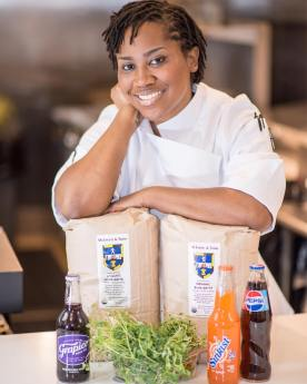Andrea Foster learned to cook international food from her father in California and Southern soul food from her grandmother in Clanton. (contributed)