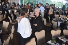 A large crowd attends the Positive Maturity gala July 25 at The Club. (Karim Shamsi-Basha / Alabama NewsCenter)