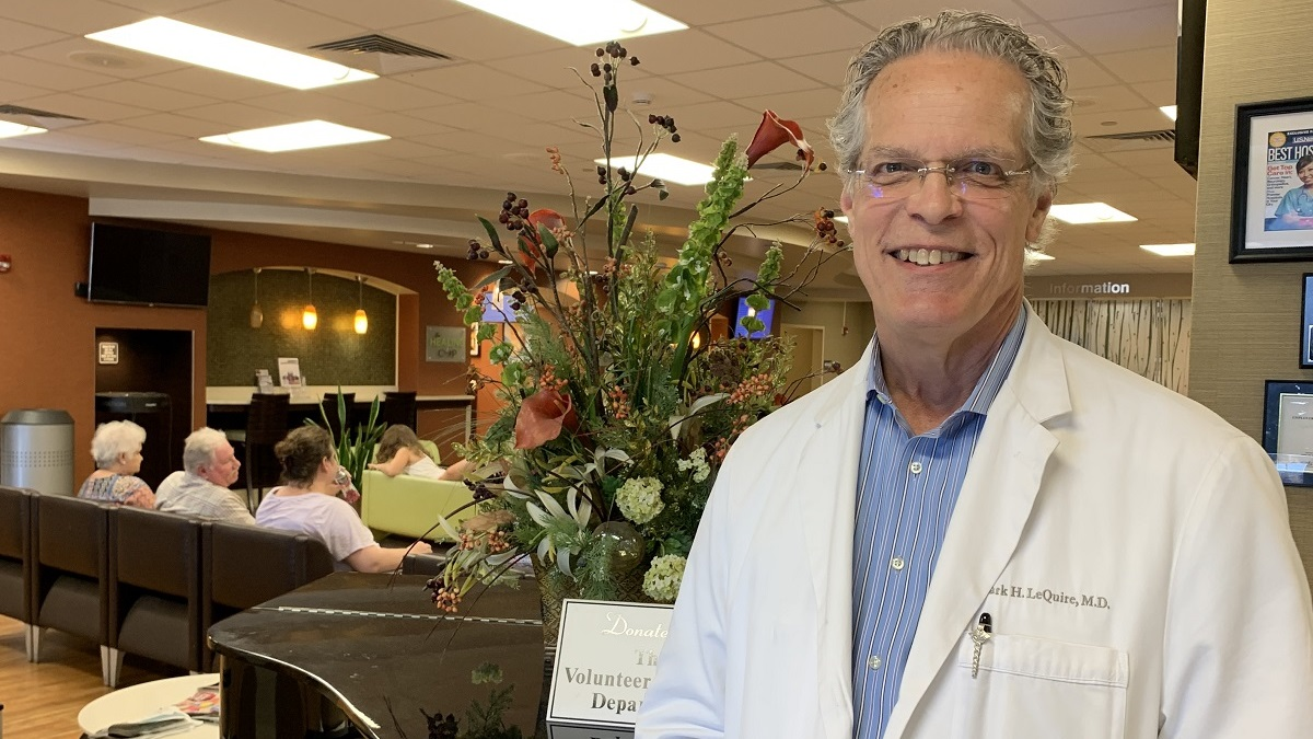 'Praying doctor' Mark LeQuire ministers to the spirit while treating the body
