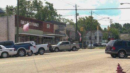 "Sulligent is one of several cities in northwest Alabama considering itself to be in the ""Crossroads of the Automotive South."" (Dennis Washington / Alabama NewsCenter)"