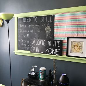 """Room represents the """"chill zone"""" where children are enouraged to take a time out. (Keisa Sharpe)"""