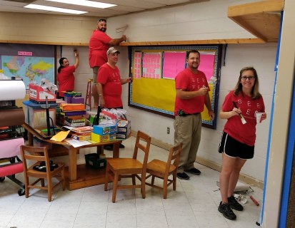 Alabama Power Service Organizations around the state have been holding a number of back-to-school events to prepare schools, students and families for the new school year. (contributed)