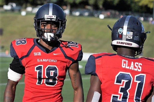 Samford defensive back Christian Matther could be a standout player on this year's team. (Chase Cochran/Samford University Athletics)