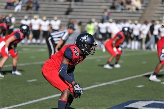 Coutrell Plair could be a standout player in Samford's secondary this year. (Chase Cochran/Samford University Athletics)
