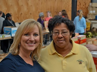 Terri Byrd and Sowing Seeds of Hope executive director Frances Ford. (CBF Alabama)