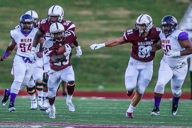 Running back Gary Quarles is among the standout players for Alabama A&M. (Alabama A&M Athletics)