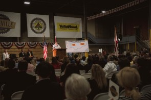 Great Southern Wood CEO Jimmy Rane led the effort to bring the former Westpoint Stevens property in Abbeville back to life as a $40 million modern sawmill. (contributed)