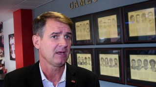 Jacksonville State University Head Coach John Grass is excited about the possibilities for this year's Gamecocks. (Solomon Crenshaw Jr./Alabama NewsCenter