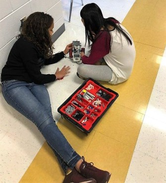 Kitty Stone Elementary School in Jacksonville has a robotics program as part of STEM learning supported by a grant by the Alabama Power Foundation. (contributed)