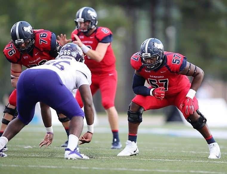 Samford offensive lineman Nick Nixon is part of an experienced Bulldog unit. (Chase Cochran/Samford University Athletics)