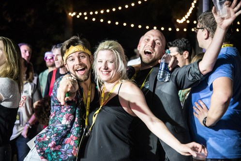 Mingle with filmmakers and dance the night away at the festival's Saturday Night Party, which will be taking place at Sloss Furnace this year. (Karen Downs)