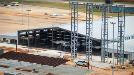 The Open Air Club at Talladega Superspeedway. (Dennis Washington / Alabama NewsCenter)