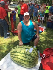 The festival features several contests centered on watermelons, including watermelon seed spitting, the largest melon, best-tasting melon, and most unusual and best-dressed melons. (contributed)