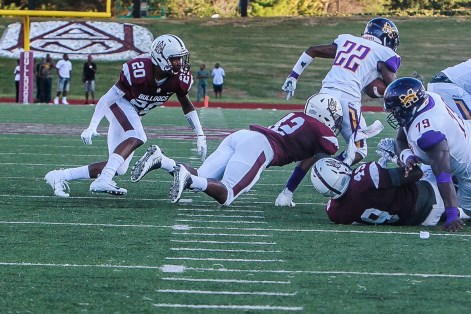 Coach Connell Maynor is expecting another great year on defense from Armoni Holloway. (Alabama A&M Athletics)