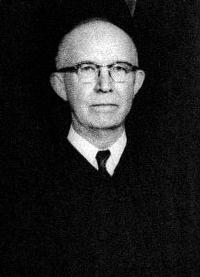 Montgomery native Richard T. Rives (1895-1982) was a federal circuit court judge known for adjudicating civil rights cases such as Browder v. Gayle and Lee v. Macon County Board of Education. (From Encyclopedia of Alabama, courtesy of Fifth Circuit Library, New Orleans, Louisiana)