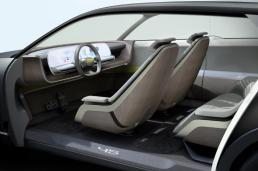 Although the 45 electric vehicle is merely a concept, Hyundai has said there is technology and elements that could influence other future models. (Hyundai Motor Co.)