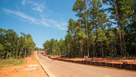 Holland Homes has 51 lots available in the new Northwoods subdivision. (Dennis Washington / Alabama NewsCenter)