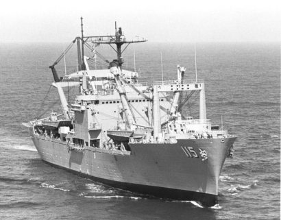 USS Mobile (LKA-115). (U.S. Navy, Wikipedia)