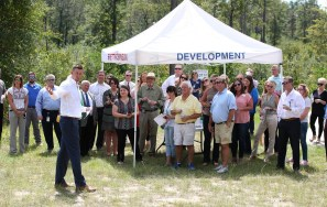 Officials broke ground on the first Mobile-area Alabama Power Smart Home development in Saraland. (Mike Kittrell / Alabama NewsCenter))