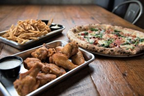 """Back Forty Beer Co. Birmingham executive chef Russ Bodner stops short of calling his cuisine """"elevated bar food,"""" though that might be an apt description. (Brittany Dunn / Alabama NewsCenter)"""