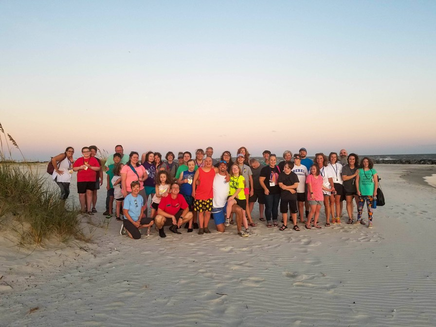 The Sea Stars buddy camp at Dauphin Island Sea Lab. (contributed)