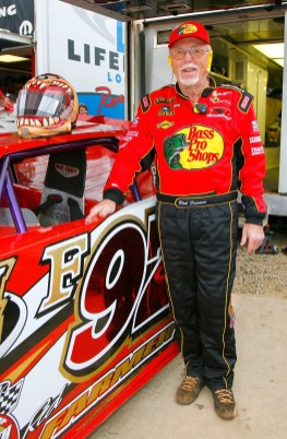 Red Farmer poses by his car prior to the Old Spice Prelude to the Dream at Eldora Speedway on June 4, 2008 in Rossburg, Ohio. (Photo by Rusty Jarrett/Getty Images for Eldora Speedway)