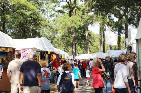 The festival ranked as one of the top 10 attractions according to the Alabama Board of Tourism. (Kentuck Festival of the Arts)