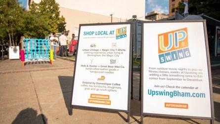 "Upswing Birmingham is a ""demonstration project"" designed by REV Birmingham. (Dennis Washington / Alabama NewsCenter)"