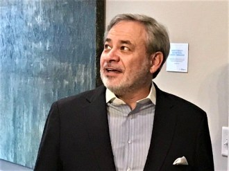 Deputy Secretary of Energy Dan Brouillette toured on of the Alabama Power Smart Homes in the Reynolds Landing Smart Neighborhood in Hoover. (Michael Sznajderman / Alabama NewsCenter)
