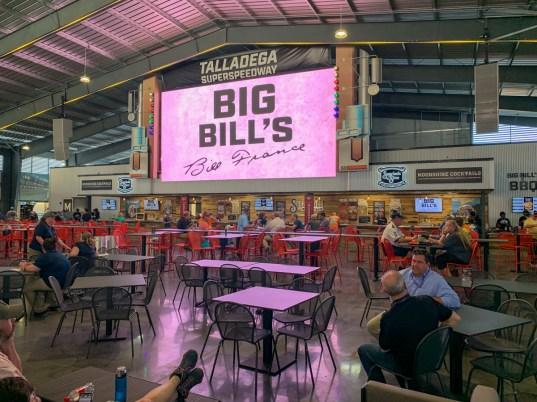 Big Bill's Open Air Club is the centerpiece of the new Talladega Garage Experience. (Dennis Washington / Alabama NewsCenter)