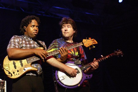 Bela Fleck & the Flecktones are on the road celebrating their 30th anniversary Nov. 22 at UAB's Alys Stephens Center. (Gabe Palacio/ImageDirect)
