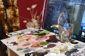Jane Philips Studio in Huntsville is generating buzz in the regional art world. (Brittany Dunn / Alabama NewsCenter)