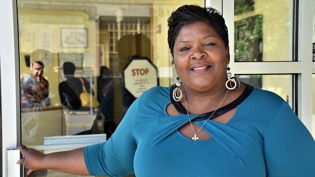 Sherry Webb is an Alabama Bright Light at First Light Women's Shelter