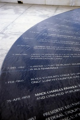 Montgomery Civil Rights Memorial, 1997. (Eric Hunt, Wikipedia)
