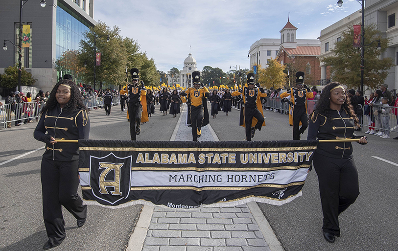 The Hornets will play the Panthers at one of the nation's oldest HBCU football classics on Thanksgiving Day. (David Campbell)