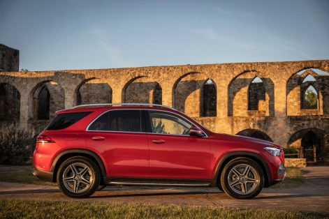 Mercedes-Benz GLE is built in Alabama. (Mercedes)