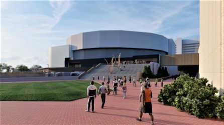 Improved access and landscaping are part of the renovation plans at the Birmingham-Jefferson Convention Complex's Legacy Arena. (BJCC)