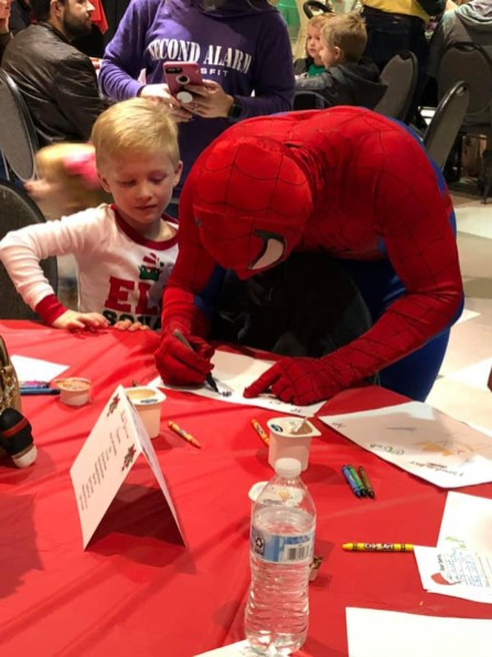 """Christmas on the Coosa will feature two breakfast sessions including characters from """"Spider-Man,"""" """"Frozen"""" and other Disney movies. (contributed)"""