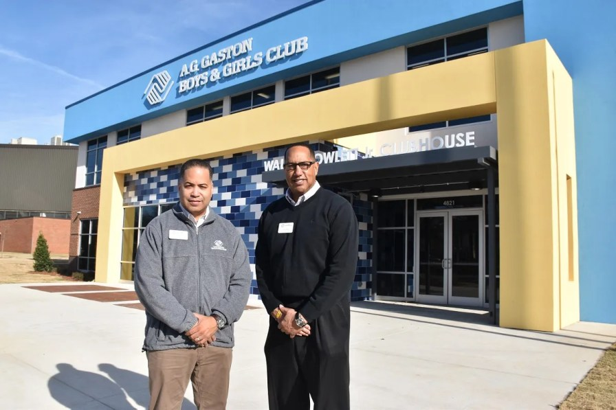 The A.G. Gaston Boys & Girls Club provides a safe environment for children after school. The organization has a new location next to the Birmingham CrossPlex in Five Points West. (Karim Shamsi-Basha/Alabama NewsCenter)