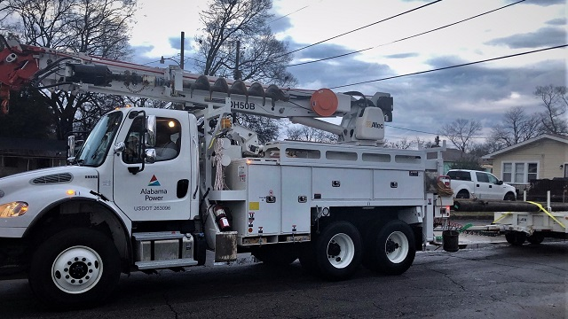 Alabama Power working to restore power outages caused by deadly storms