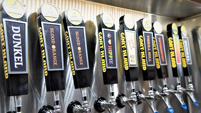Goat Island Brewing is an Alabama Maker concocting interesting beers