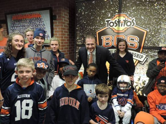Special Spectators creates VIP all-access game day experiences for seriously ill children and their families at sporting events across the United States. (contributed)